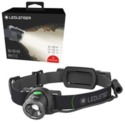 Led Lenser Linterna LED de bolsillo, Unisex adulto, MH10