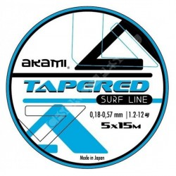 Akami Tapered Surf Line 0.20-0.62