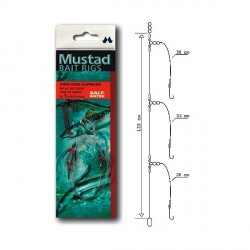 Sabiki Mustad Rigs Three Hook Flapper Rig T45