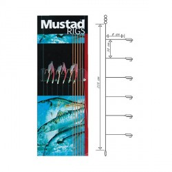 Sabiki Mustad Rigs Mini Shrimp Rig T87